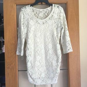 Jessica Simpson maternity lace shirt